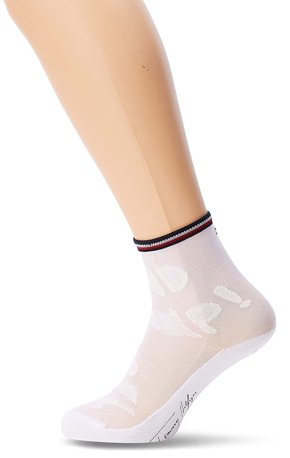 Calze Donna Tommy Hilfiger TH WOMEN CHECK SOCK 2P