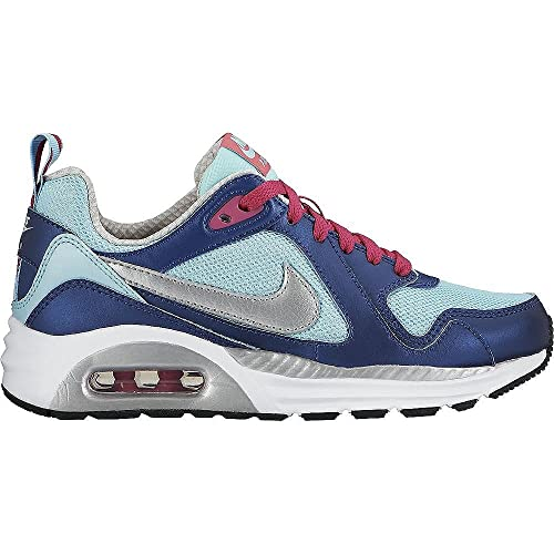 Nike Air MAX Trax (GS) - Zapatillas para niña, Color Azul/Turquesa/Plata/Rosa: Amazon.es: Zapatos y complementos