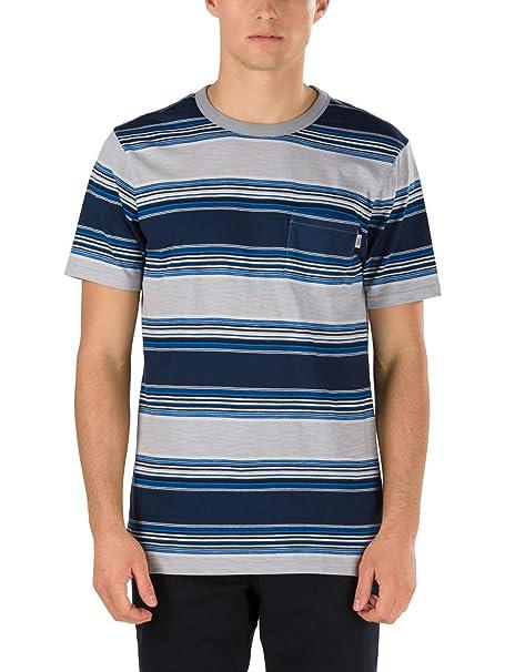 Vans Brunswick VA315A, Camiseta Para Hombre, Multicolor (Dress ...