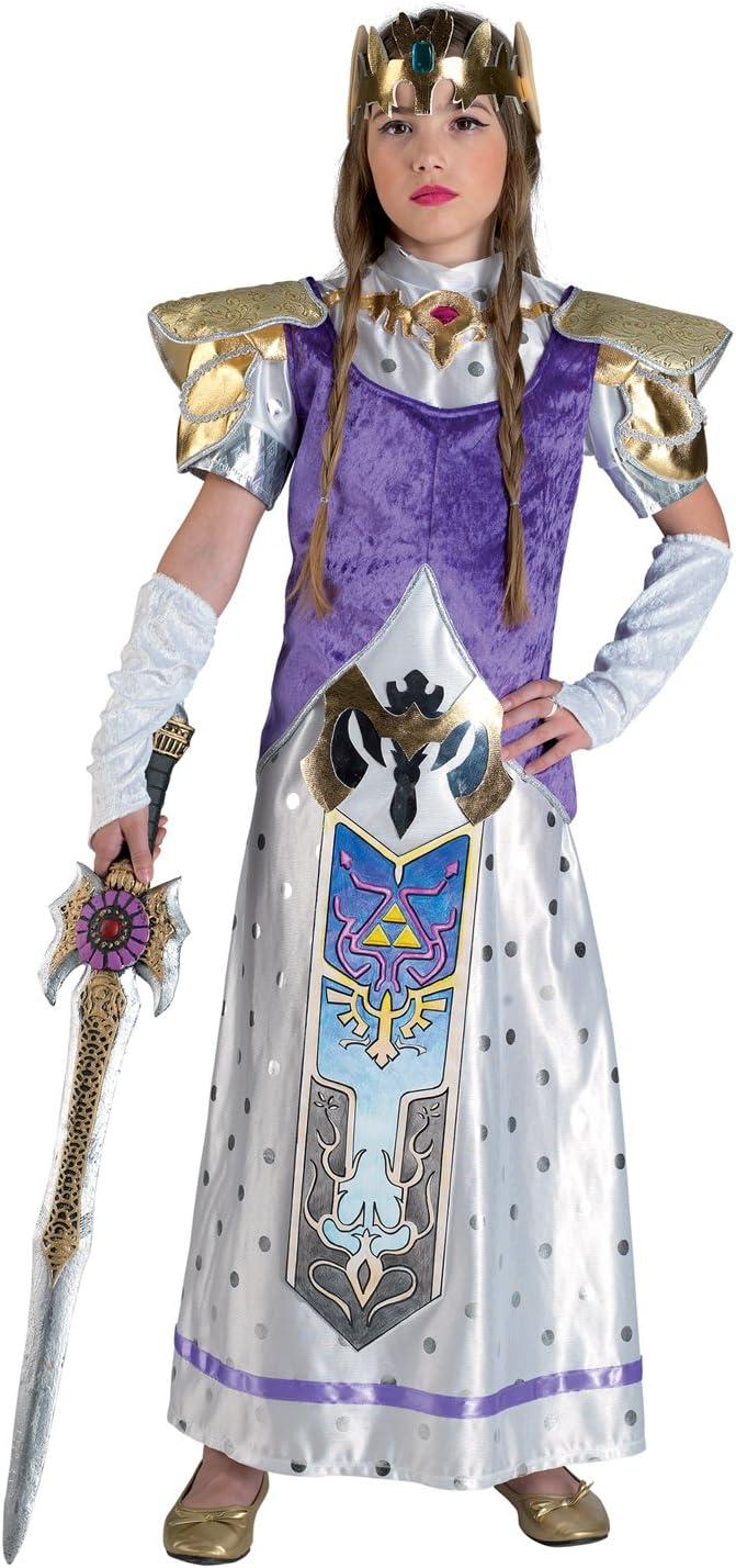 chiber Disfraces Disfraz de Princesa Zelda para Niña (Talla 8 ...