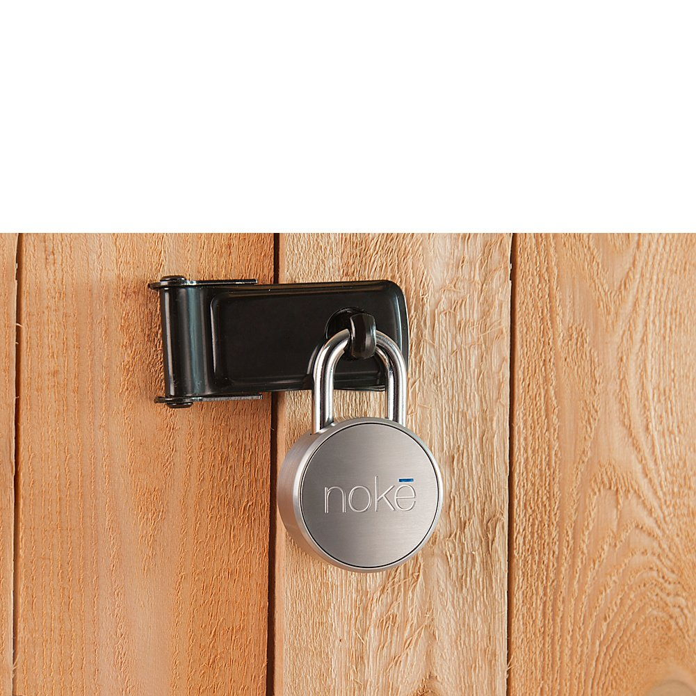 Noke World's First Smart Lock-Keyless Padlock-Open The Lock With Your Phone