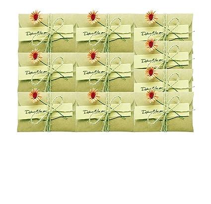Amazon 10 Pcs Daisy Gift Card Holder Greeting Card Wish Card