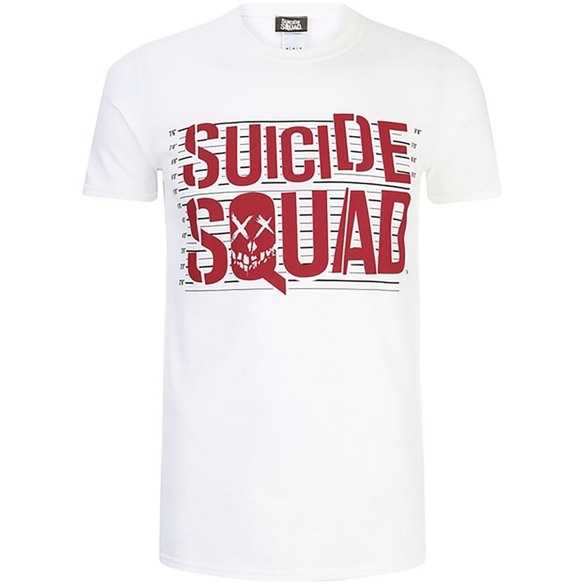 Suicide Squad S Logo T Shirt 6404