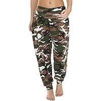 Love My Fashions® Nuevas Mujeres Lisas Alibaba Harem Tobillo Puños Pantalones de Mujer de Longitud Completa Pantalones…