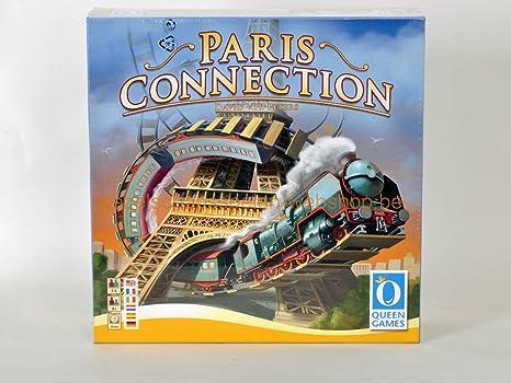 Amazon Com Queen Games Paris Connection Multi Language Board Game