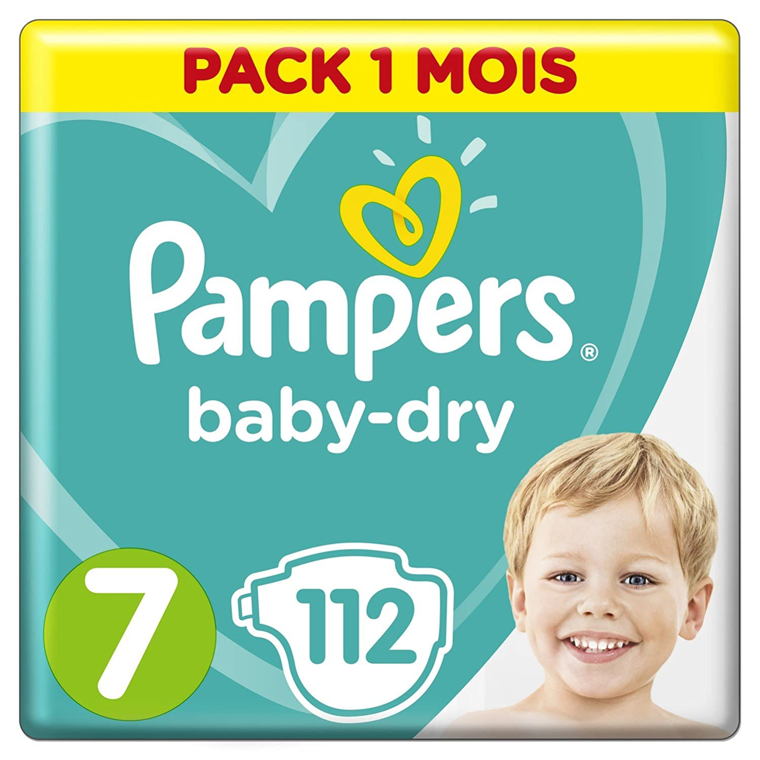 Pampers - Baby Dry - Couches Taille 5 (11-16, 11-23 kg) - Pack 1 mois (x144 couches) 81398469