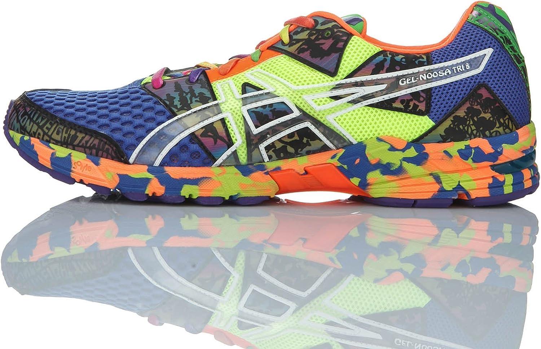 Asics Zapatillas Performance Gel-Noosa Tri 8 Azul/Multicolor EU 46.5 (US 12): Amazon.es: Zapatos y complementos
