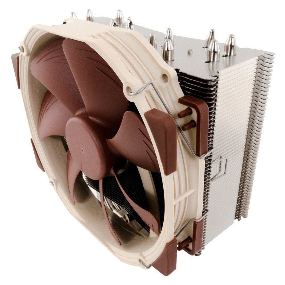 Brown Noctua NH-U14S Premium CPU Cooler with NF-A15 140mm Fan
