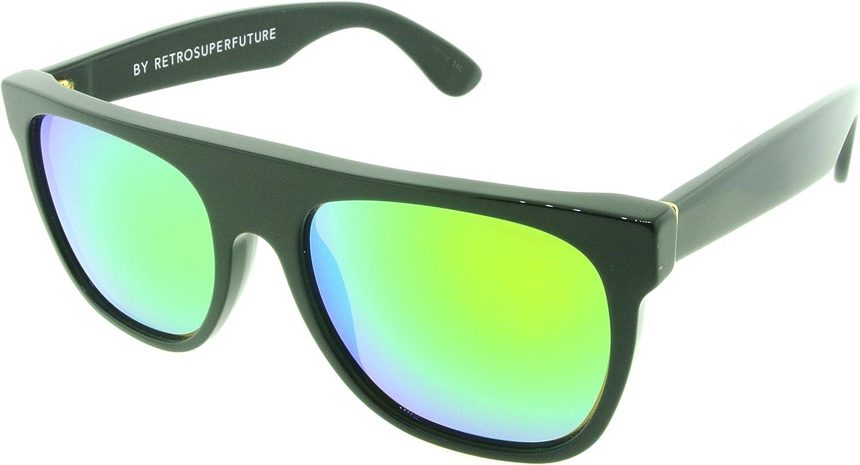 New Super Retrosuperfuture 9JD Flat Top Guaglione Sunglasses Size 55mm