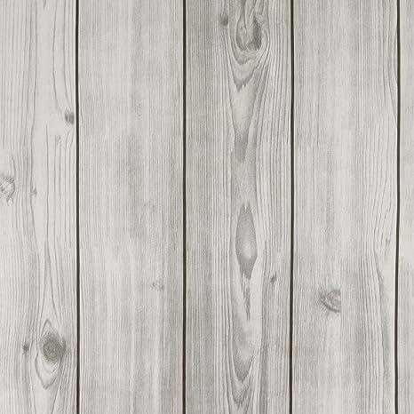 Leeya Faux Wood Wallpaper 17 8 X 197 Gray Self Adhesive Reclaimed Wood Contact Paper Bedrooms Decor