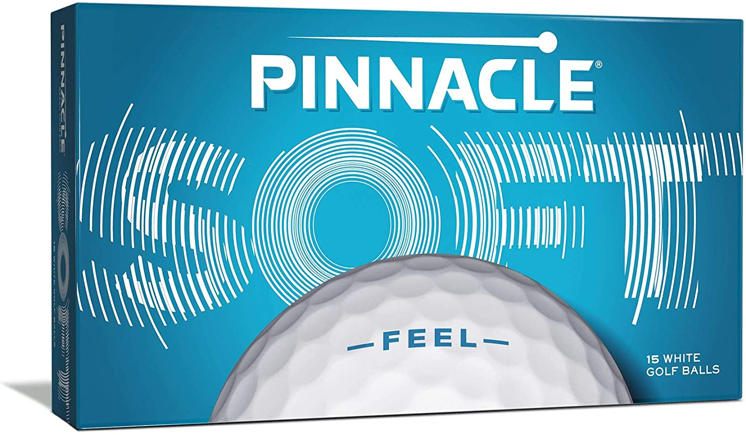 Pinnacle Soft Golf Balls (Pack of 15)