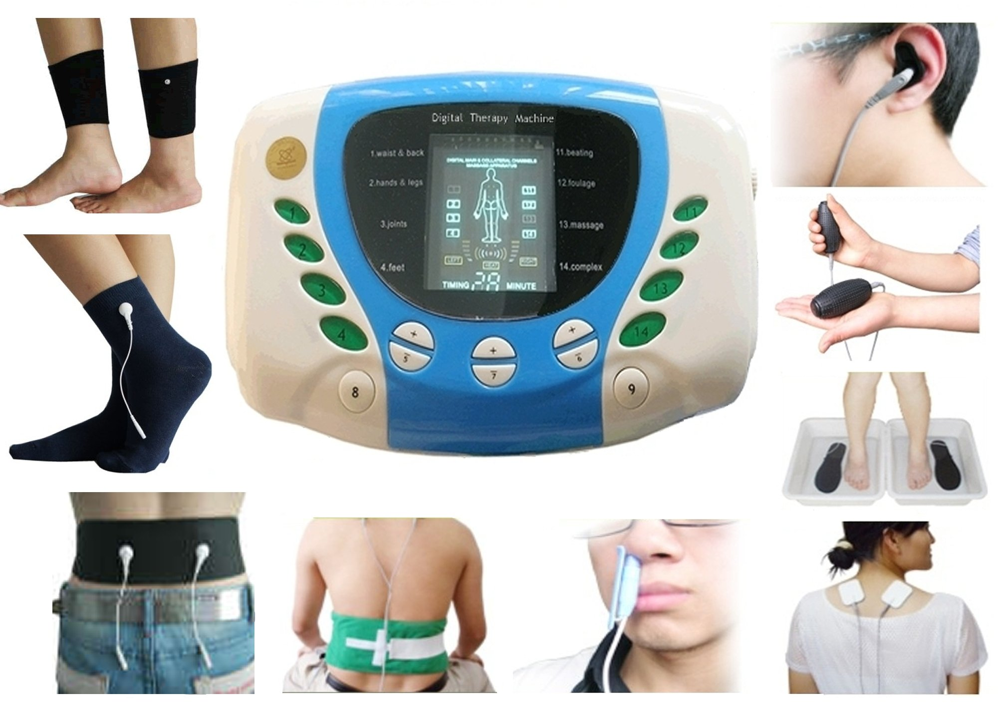 Pain Relief Machine Medicomat Pain Therapy (Medicomat-5 with Belt Socks Ankle)
