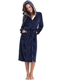 L L Accappatoio Vestaglia Donna con Cappuccio Darcy Short  Amazon.it ... 493ce5a4d682