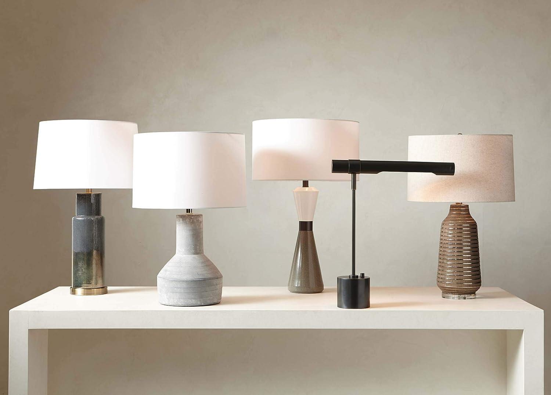 Amazon.com: Ethan Allen Magnus - Lámpara de escritorio con ...