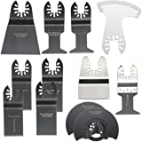 BABAN 12pcs Mix Lames de scie alternative Lame oscillante pour Fein Multimaster Bosch Makita outils à usages multiples