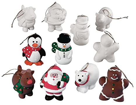 design your own ceramic christmas character ornaments crafts for kids design your own 12 - Paint Your Own Ceramic Christmas Decorations