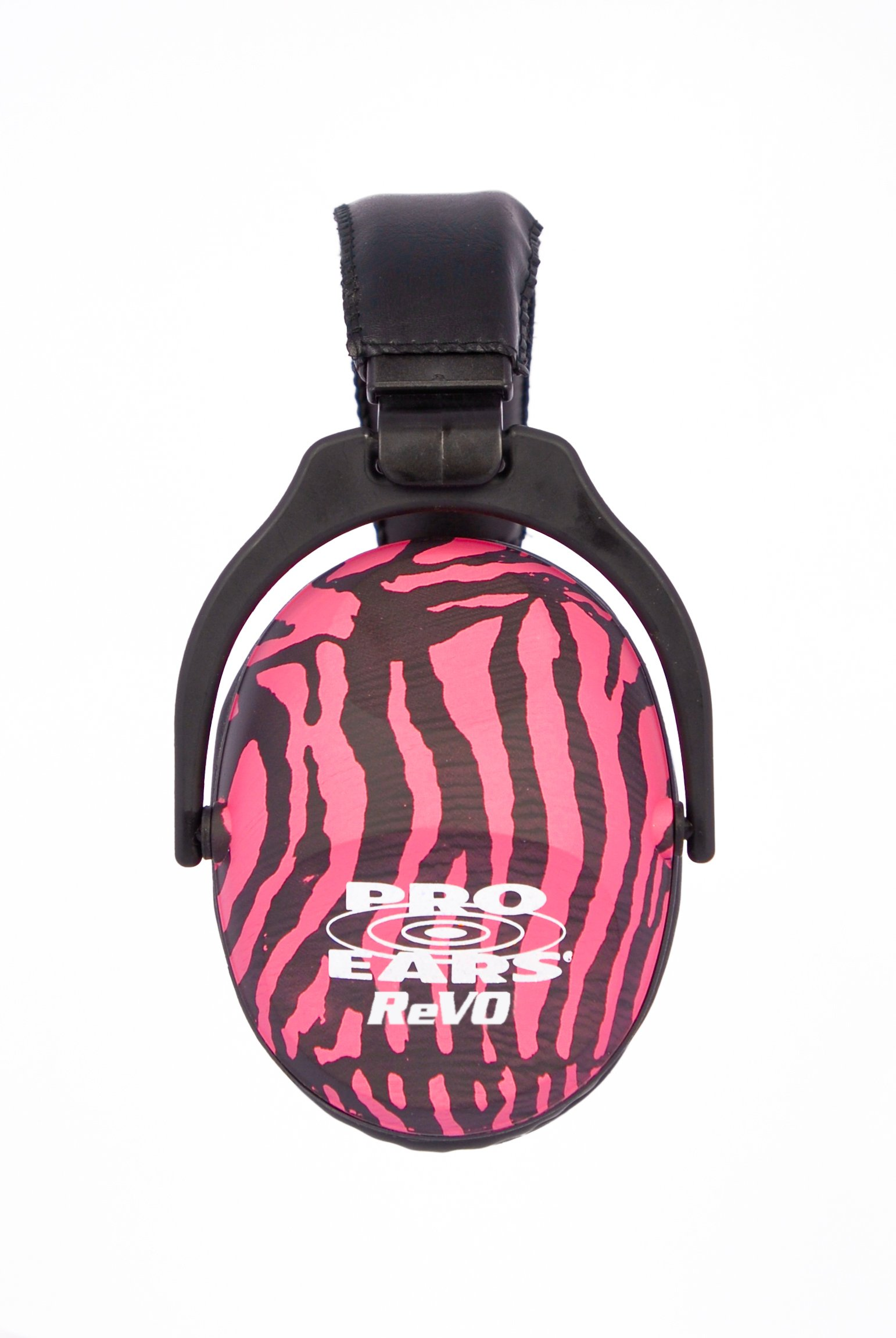 Pro Ears - ReVO - Hearing Protection - NRR 25 - Youth and Women Ear Muffs - Pink Zebra by Pro Ears (Image #2)