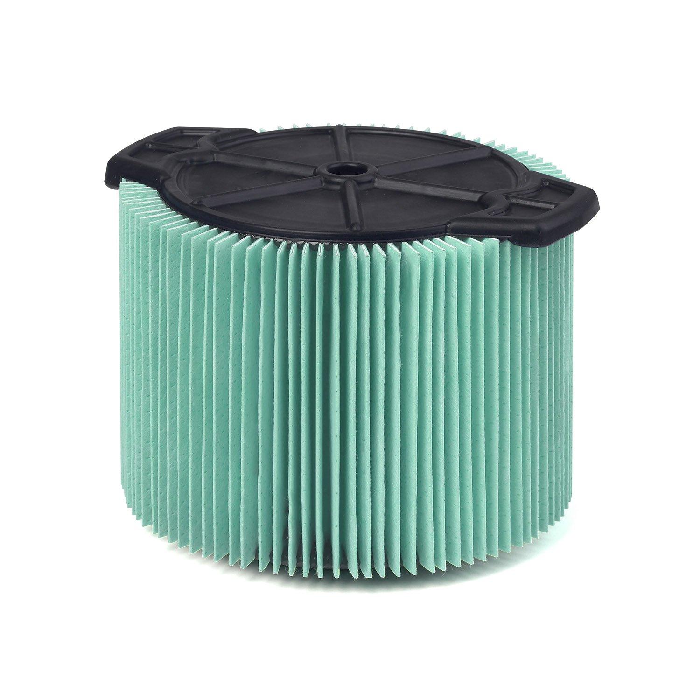 WORKSHOP Wet Dry Vacuum Filters WS13045F HEPA Media Filter For Shop Vacuum Cleaner (Single HEPA Media Filter For Wet Dry Vacuum Cleaner) Fits WORKSHOP 3-Gallon to 4-1/2-Gallon Shop Vacuum Cleaners
