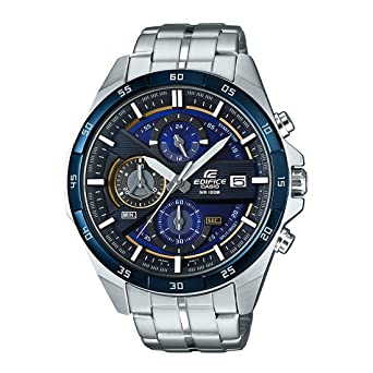 545bb4417c9 Buy Casio Edifice Analog Blue Dial Men s Watch - EFR-556DB-2AVUDF (EX362)  Online at Low Prices in India - Amazon.in