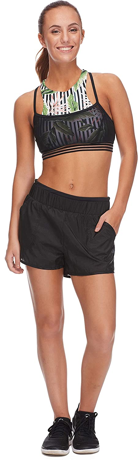 Body Glove Womens Bianca Loose Fit Activewear Short with Undershort Body Glove Active 29049666