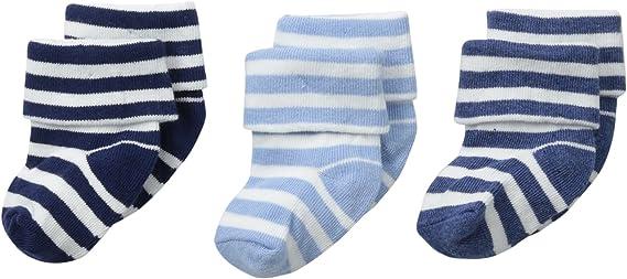 Jefferies Socks baby-girls Newborn Bubble Stitch Rock-a-bye Bootie 6 Pair Pack Socks