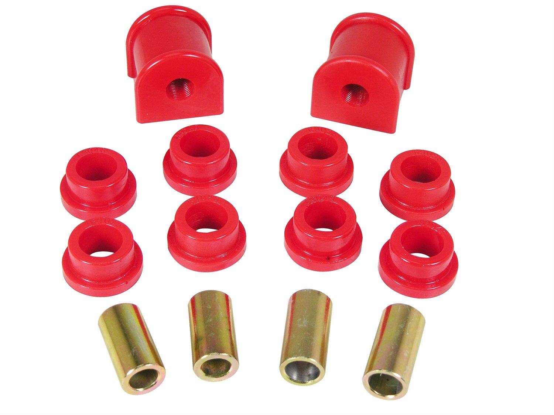 Prothane 1-1114 Red 9/16'' Rear Sway Bar Bushing Kit by Prothane
