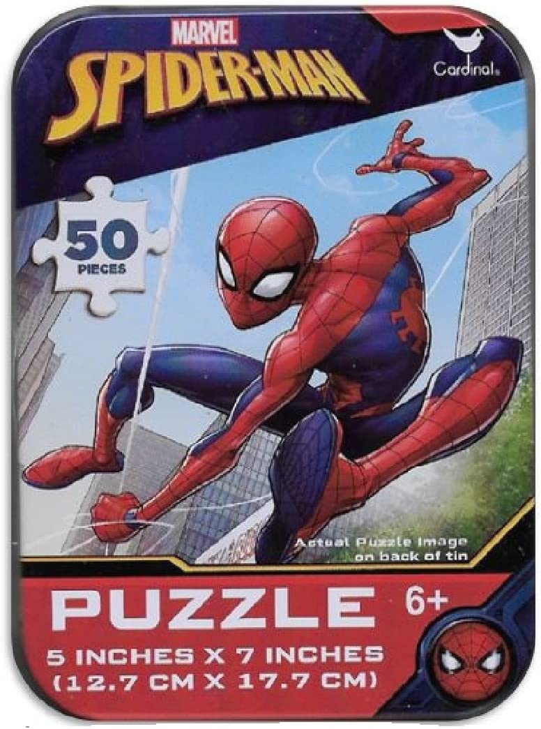 Disney Marvel /& More Licensed Character Mini Puzzles in Tins Nickelodeon My Little Pony
