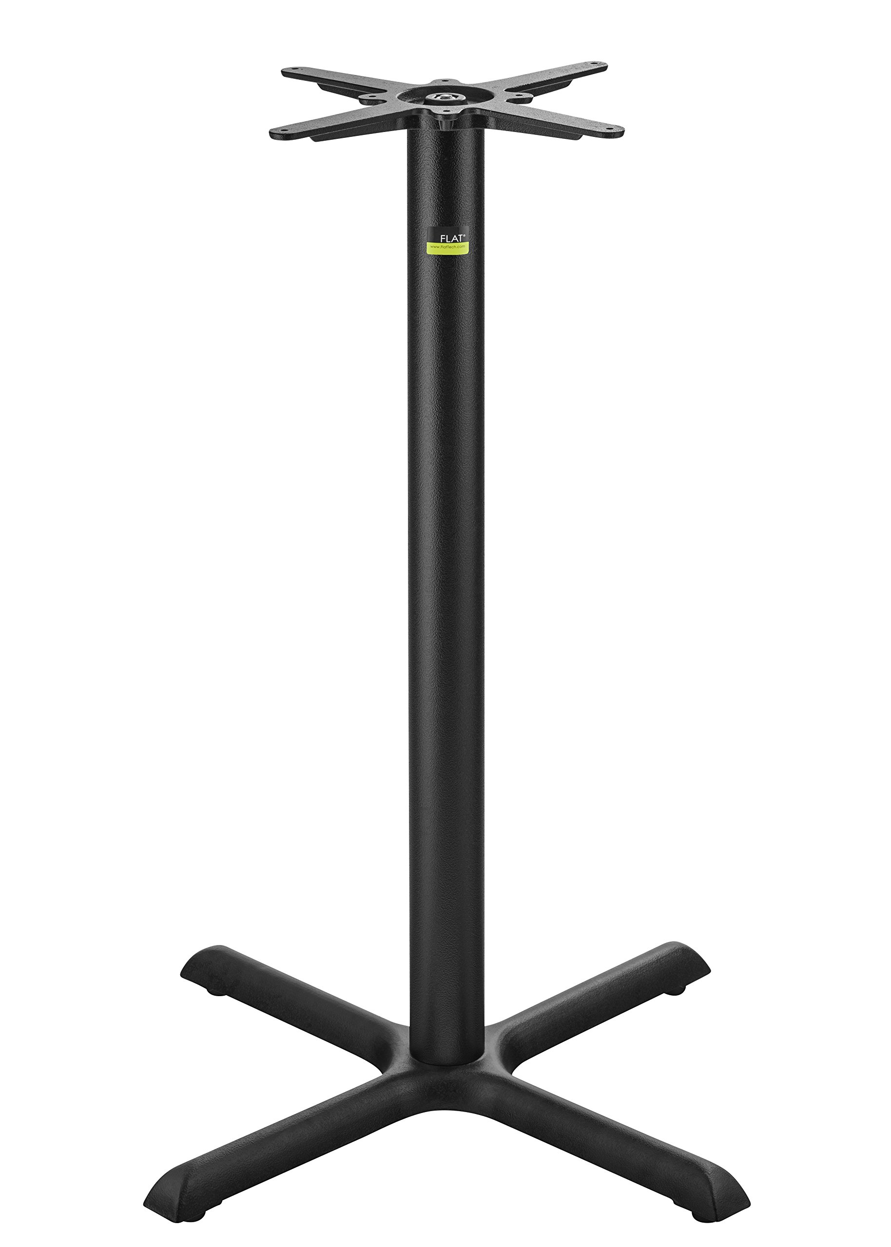 FLAT Self-Stabilizing KX30 (30'') Cast Iron, Bar Height Table Base