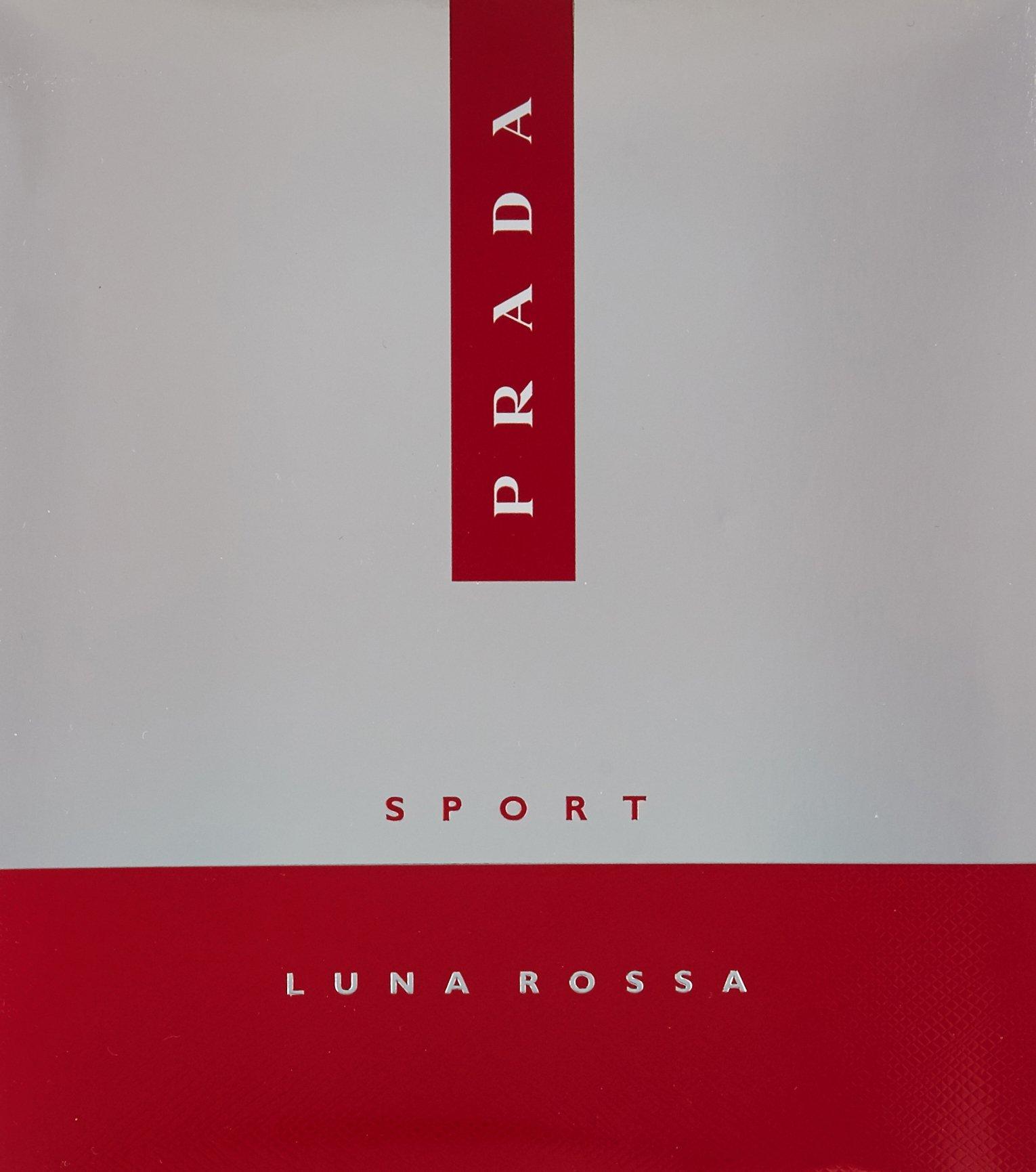 Prada Luna Rossa Sport for Men 3 PC (3.4 Eau De Toilette / 3.4 shower gel / 3.4 after shave balm) by Prada (Image #2)