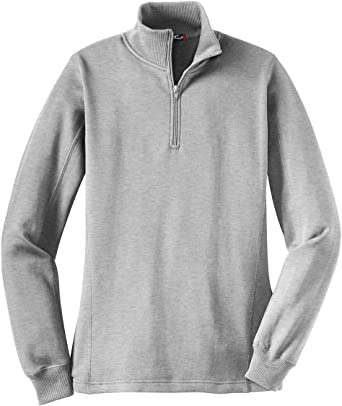Sport Tek Ladies 1 4 Zip Sweatshirt Lst253 Apparel X Large Grey At Amazon Women S Clothing Store Athletic Sweatshirts Colorfast with minimal shrinkage, this casual essential is made to last. sport tek ladies 1 4 zip sweatshirt lst253 apparel x large grey