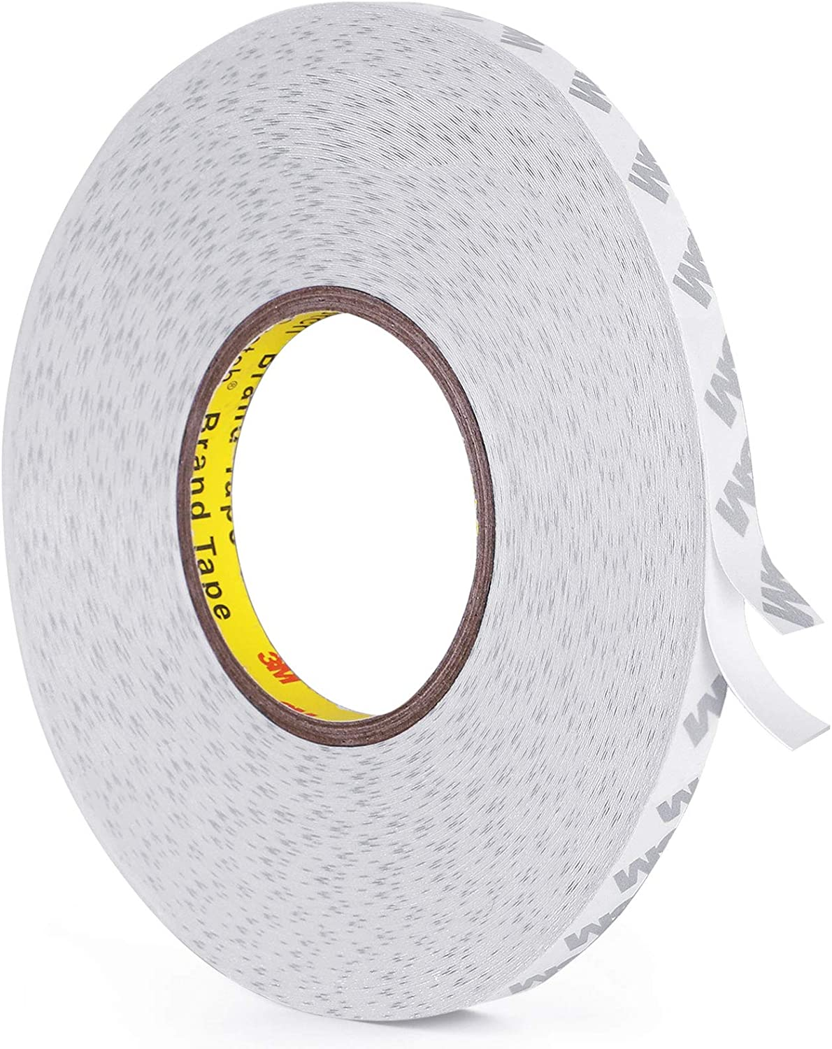 Double Sided Tape, 164FT Length, 0.39 Inch Width Thin Waterproof Mounting Tape, Easy Peel Off Two Sided Tape Foam Tape for Led Strip Lights, Car, Home, Office Decor, Made of 3M Tape