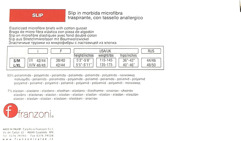 FRANZONI Slip Microfibra