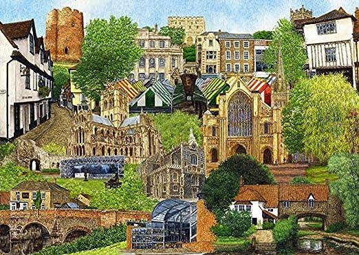 Norwich 1000 Piece Jigsaw Puzzle