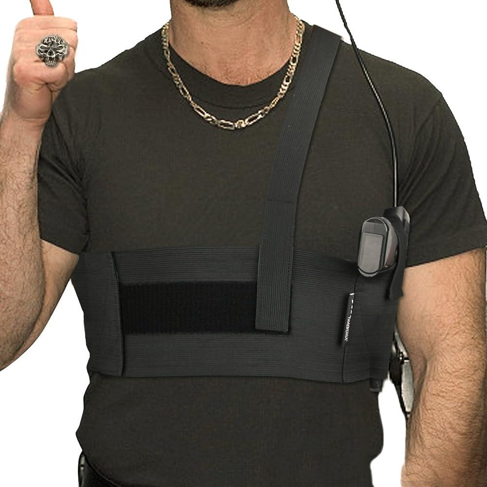 5. LINIXU Deep Concealment Shoulder Holster