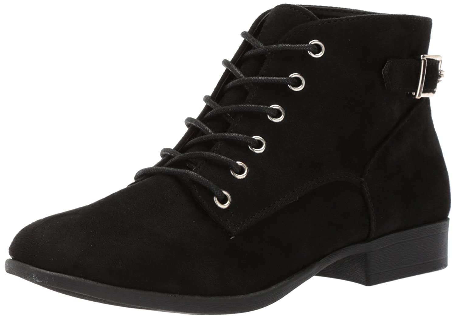 Call It Spring Women's Gitana Ankle Bootie B06ZZD3CLS 10 B(M) US|Black Nubuck