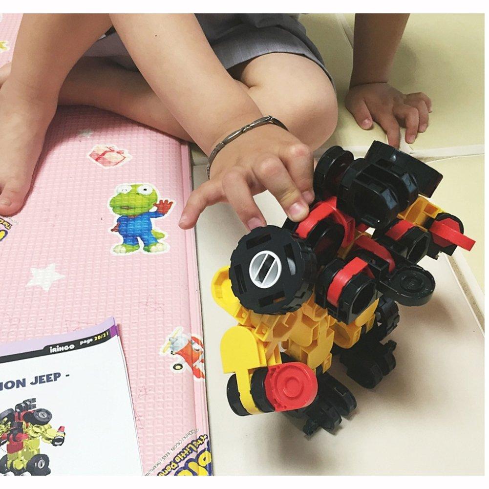 iRiNGO The starter Set 212pcs Transformable Kids Creativity IQ EQ Block Toy by iRiNGO The starter (Image #9)