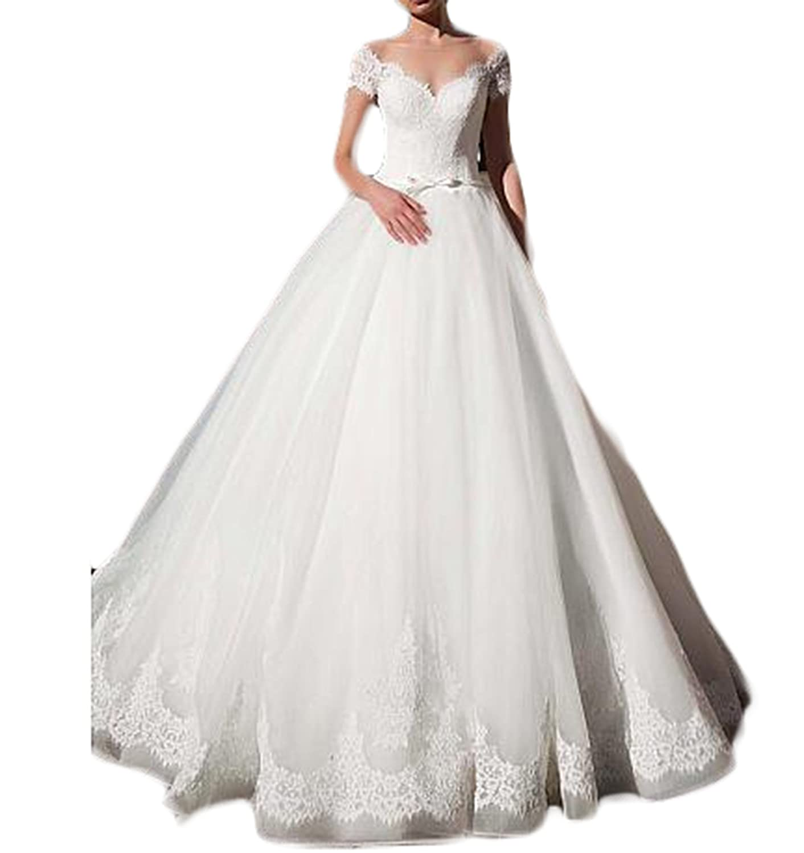 Gotidy Vintage Inspired Vestido De Novia 2018 Lace Bridal ...