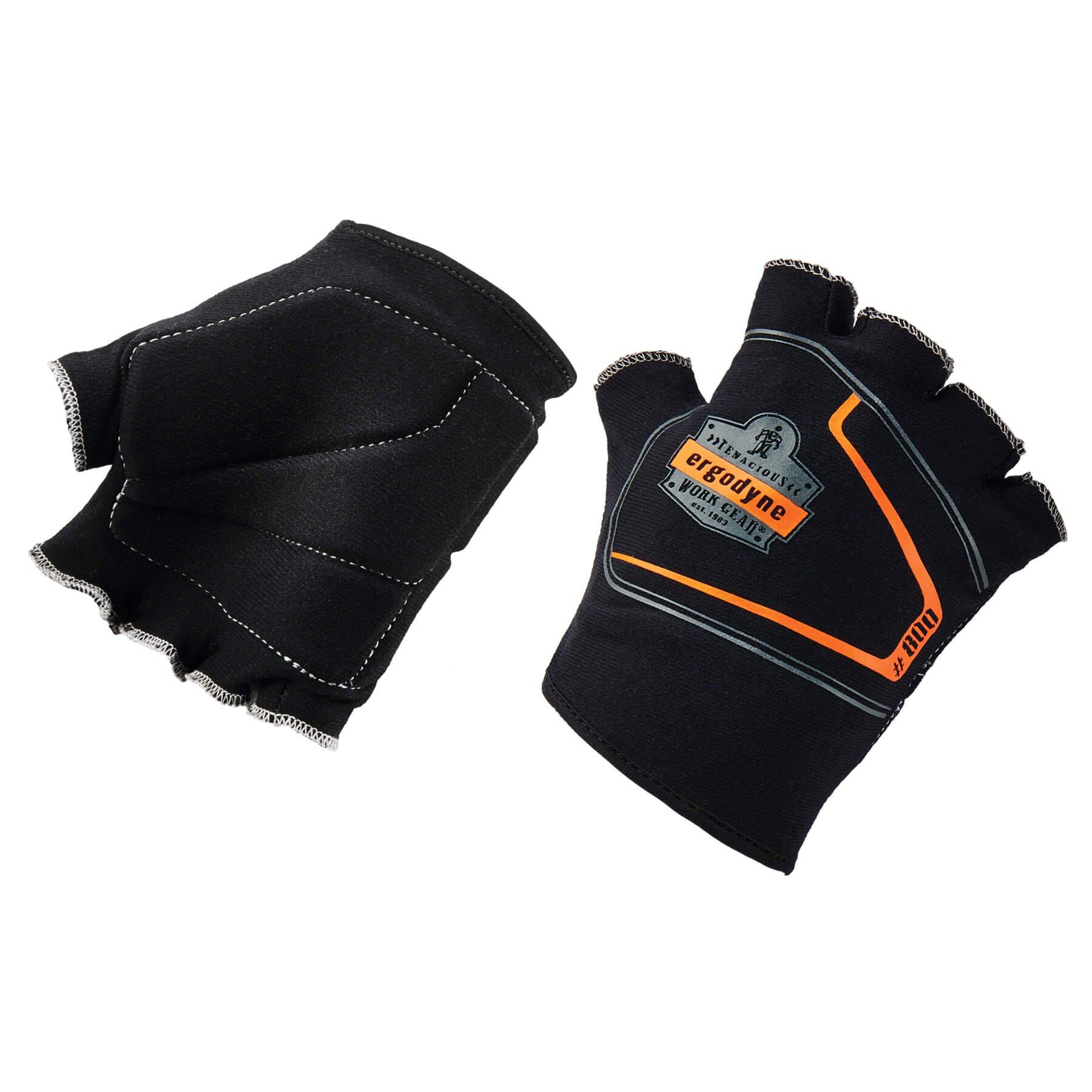 Ergodyne ProFlex 800 Padded Work Glove Liners, Large