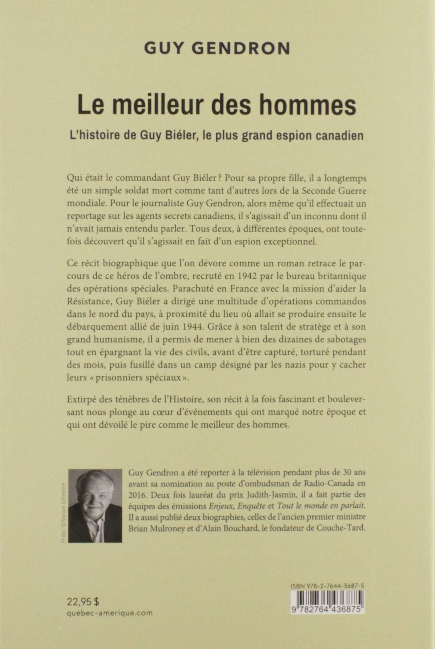 Amazon In Buy Le Meilleur Des Hommes L Histoire De Guy Bieler Le