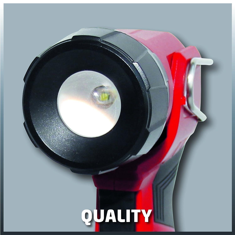 VERSION SOLO LIVRE SANS BATTERIE NI CHARGEUR Einhell Lampe torche sans fil sans fil sur batterie TE-CL 18 Li H-Solo Power X-Change 18V, Flux lumineux : 280 lm, Jusqu/à/ 32h dautonomie, 1 LED