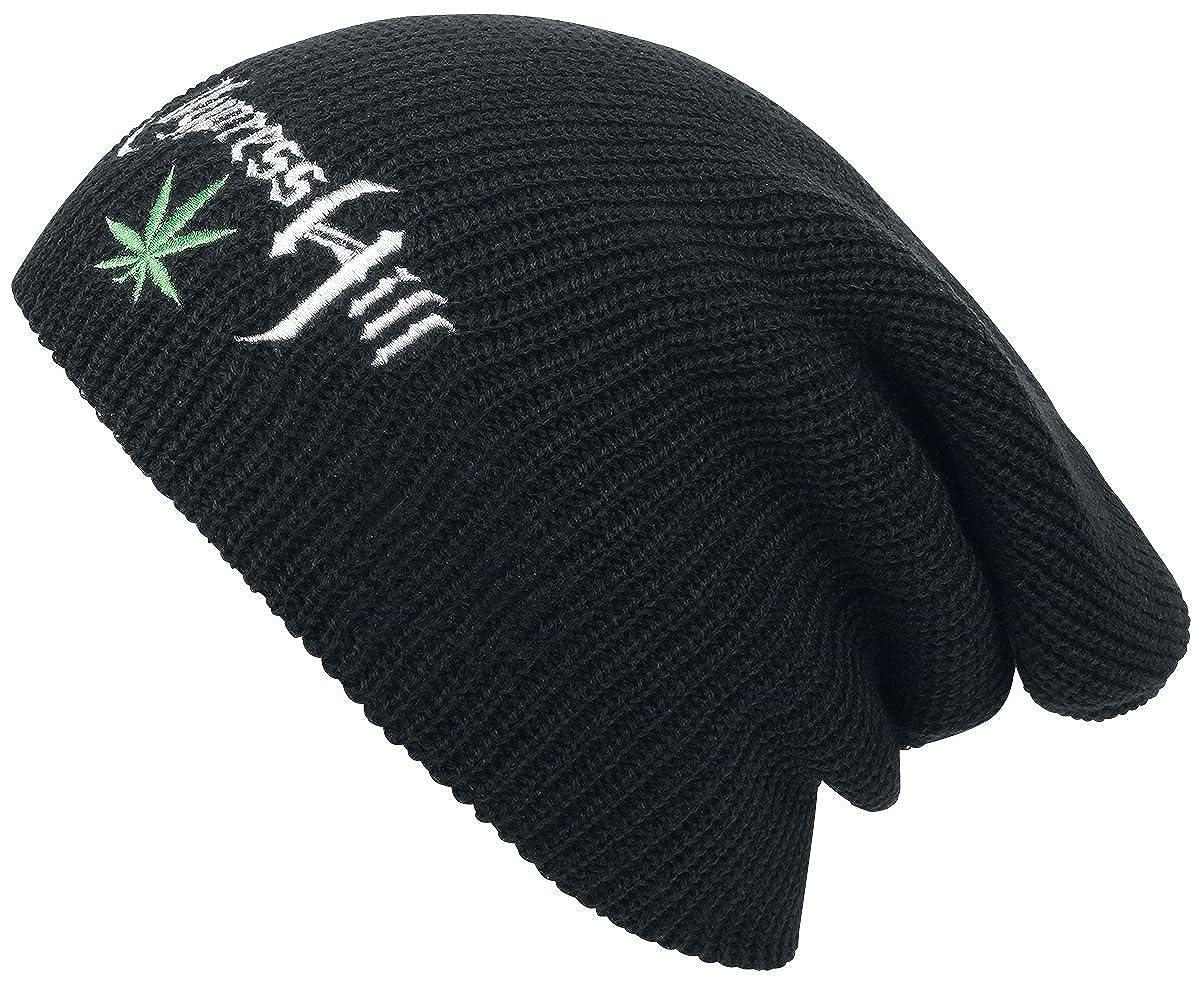 Cypress Hill Leaf Logo Bonnet Noir Cypress Hill Beanie