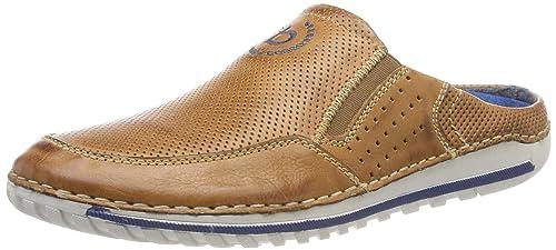 Buy Bugatti Men Cognac Slip-On Leather