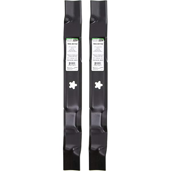 "SureFit Blade for Husqvarna 532134149 AYP Craftsman 134149 42/"" Deck Xtreme 4PK"