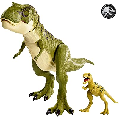 Jurassic World-GCT98 Dinosaurs and Prehistoric Creatures, GCT98, Multi-Colour: Toys & Games