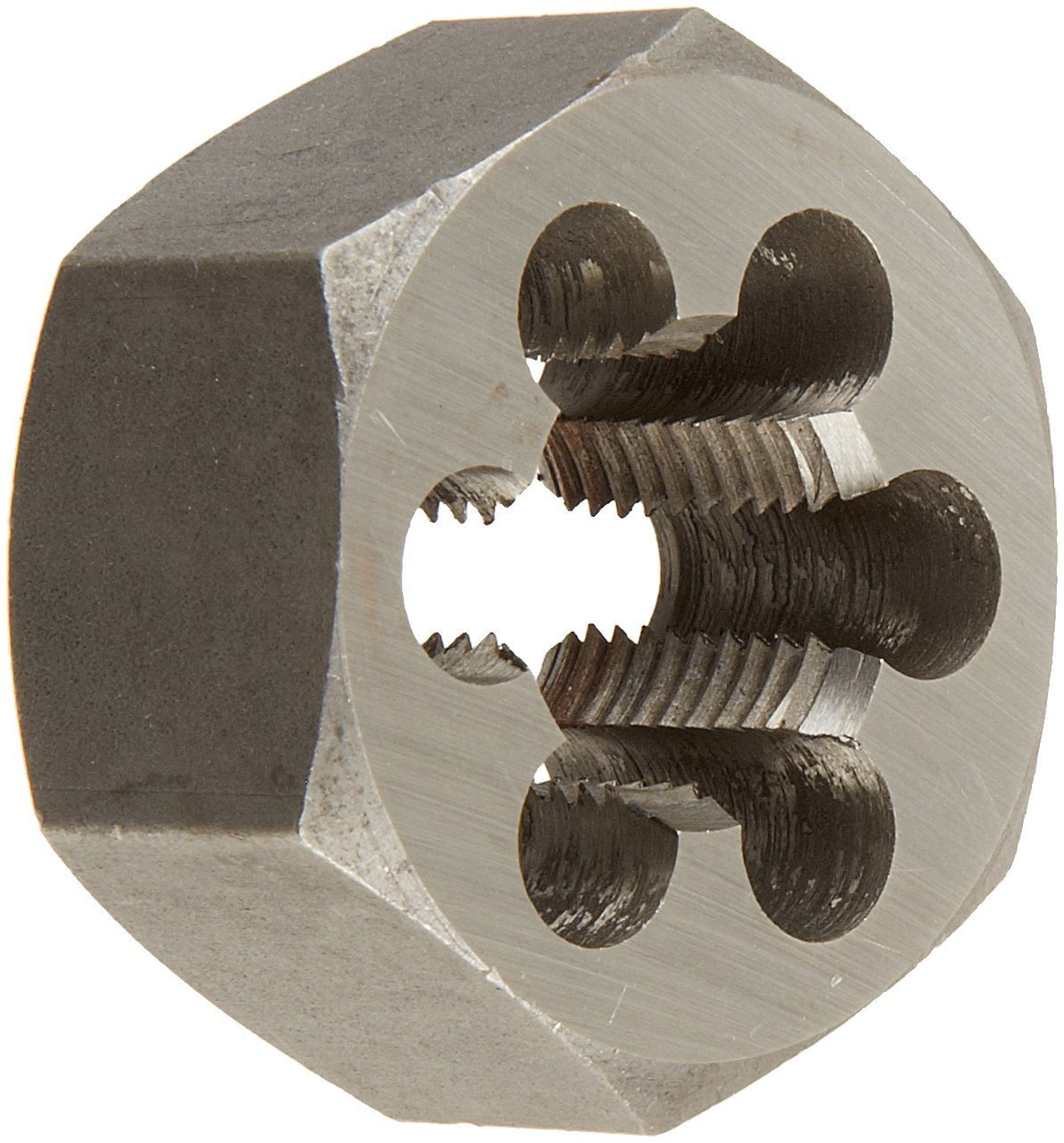 Drill America DWT Series Qualtech Carbon Steel Hex Threading Die, M36 x 1.5 Size (Pack of 1)