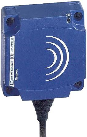 Schneider Electric XS7C1A1PAL2 Sensor Indutivo Xs7 40X40X15, Pbt –Sn 15 Mm, 12-