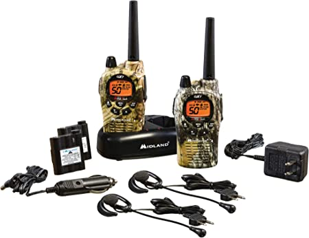 front facing midland gxt1050vp4 long range two-way radio