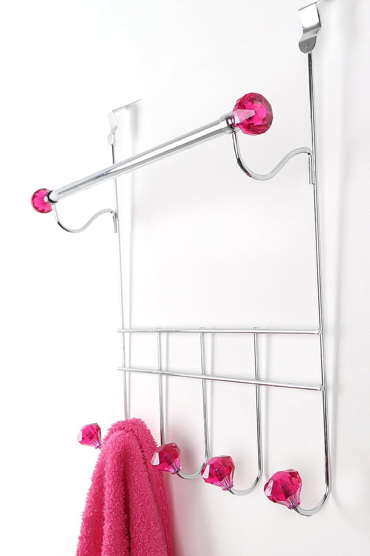 Cromo Hot Pink Premier Housewares Colgador