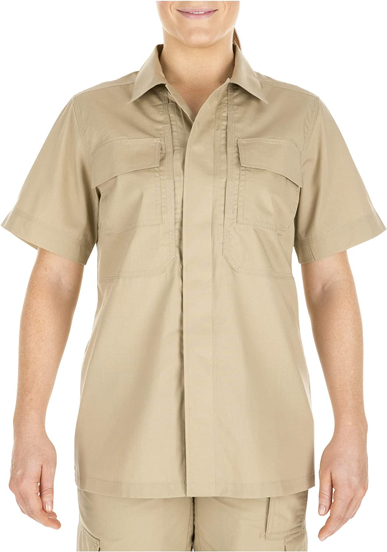 Style 61025 Ripstop Fabric 5.11 Tactical Womens Taclite TDU Uniform Work Short Sleeve Shirt