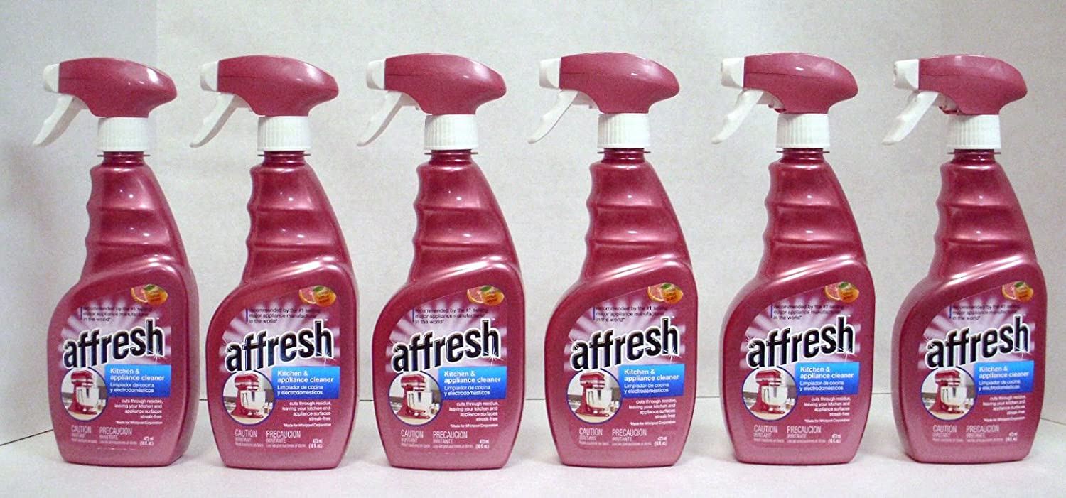 Amazon Com Whirlpool Affresh W10355010 Kitchen Appliance Cleaner 6 Lot Pack 16oz Genuine Health Personal Care
